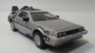 Delorean Dmc 12 Volver Al Futuro 1:43 Carro De Colección