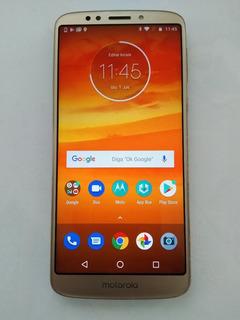 Motorola Moto E5 Plus 16gb Usado Ouro Excelente
