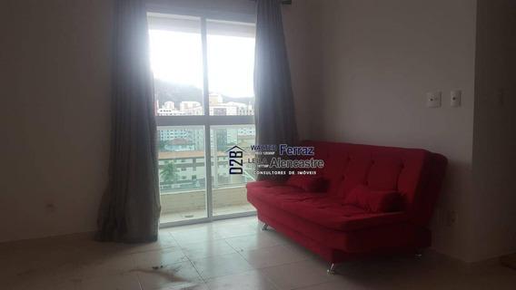 Apartamento Para Alugar, 51 M² Por R$ 2.500,00/mês - Gonzaga - Santos/sp - Ap0309