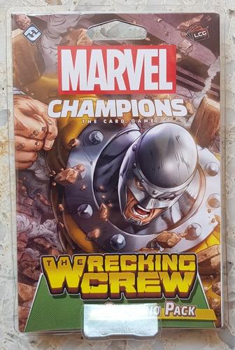 Marvel Champions Card Game Wrecking Crew Scenario Pack Nuevo