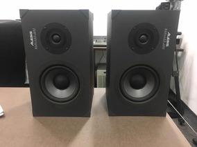 Monitor De Áudio Alesis Monitor One/ Potência Alesis Ra-100