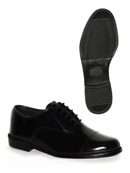 Sapato Social Price Militar Exército Eb Marinha Número 40