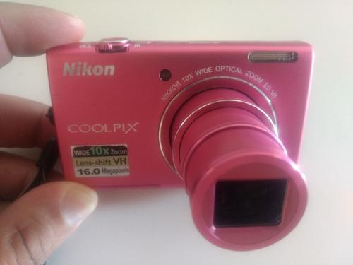 Imagem 1 de 4 de Camera Fotográfica Nikon Coolpix S6200