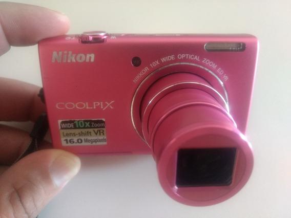 Camera Fotográfica Nikon Coolpix S6200