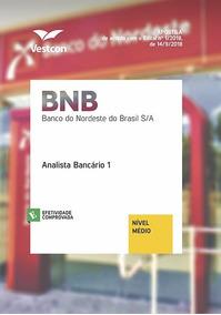 Apostila Banco Do Nordeste - Analista Bancário 2018