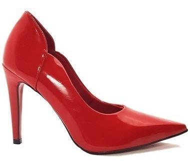 Sapato Scarpin Feminino Várias Cores Numeração Especial Cd31