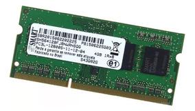 Memória 4gb Ddr3l -1600mhz 1.35v Low Voltage Smart Sodimm