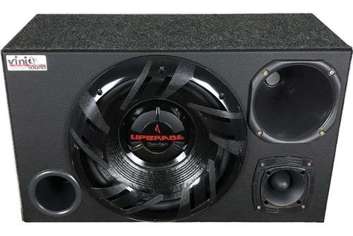 Caixa Trio Bomber Upgrade 350w Rms + Driver + Tweeter