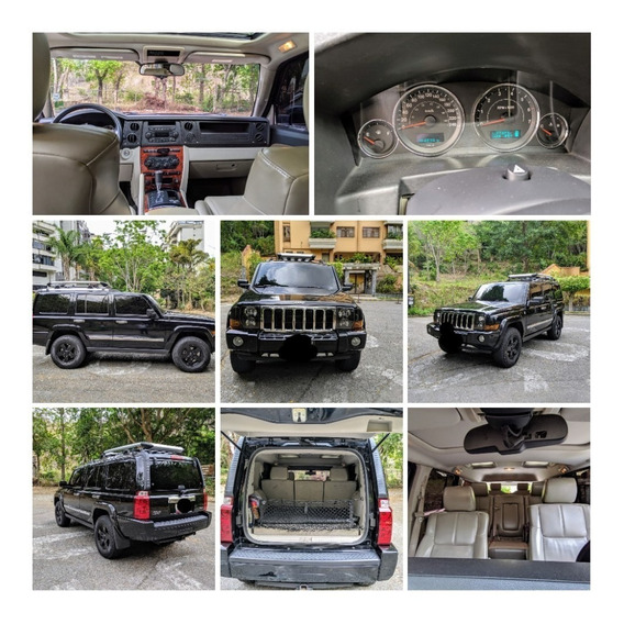 Jeep Commander Limited 2007 5.7l Hemi 3 Filas De Asientos