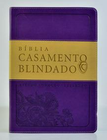 Bíblia Casamento Blindado - Estudo - Oração - Reflexão
