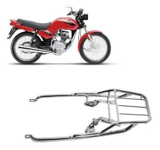 Bagageiro Trefilado Honda Cg Titan 1993 A 1999 Longo Cromado