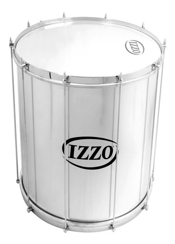 Imagen 1 de 10 de Surdo Zurdo 7756 16 Percusion Aluminio Doble Tension