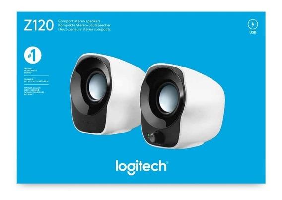 Logitech Altavoces Compactos Z120 Con Alimentación Usb