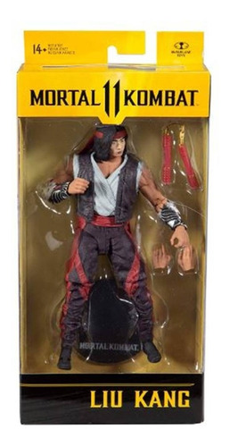 Imagen 1 de 8 de Figura Mortal Kombat Articulada Muñeco Original Acción 20 Cm