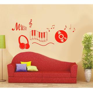 Vinilo Pared Musica Decoracion Wall Stickers