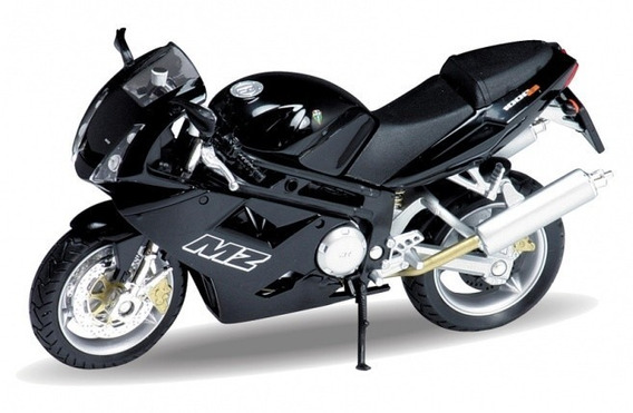 Moto Mz 1000s Welly Metal Coleccion 1/18 La Plata Myuj
