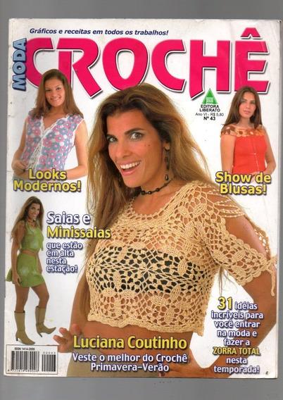 Revistas De Crochê Lote Com 10 Revistas (720)