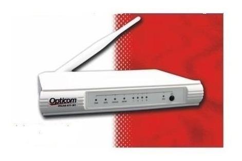 Modem Roteador Wireless 150mbps Opticom 477-m1 Dslink