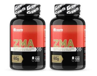 Kit 2 Zma 120 Cápsulas Growth Original