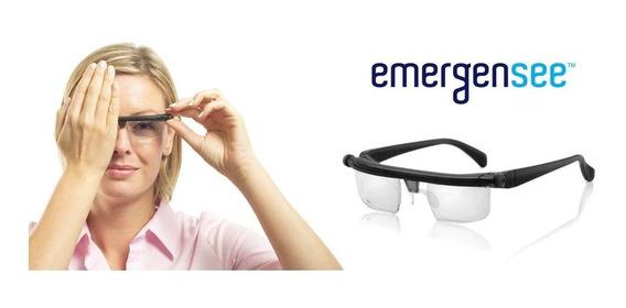 Lentes Regulables Ajustables Gafas Anteojos Emergensi