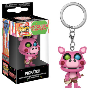 Funko Pop! Keychain: Pizzeria Simulator - Pigpatch (32156)