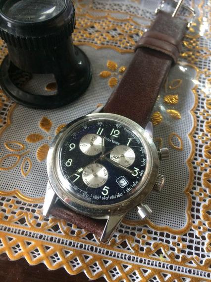 Relógio Wyler Vetta Cronógrafo! Antigo De Coleção 096