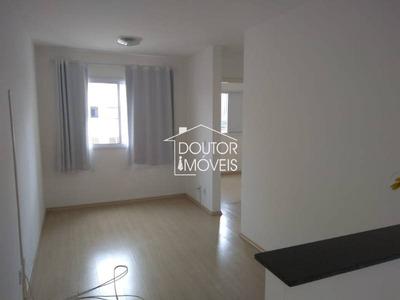 Apartamento Em Condomínio Padrão Para Locação No Bairro Mooca, 2 Dorm, 1 Banheiro, 1 Vaga 45ms. - 1157dr