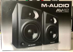 Monitor M-audio Av42 Par Monitor De Referência