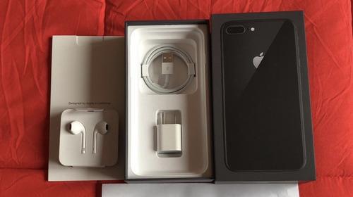 iPhone 8 Plus Negro Spacial De 256 Gigas Impecable Original