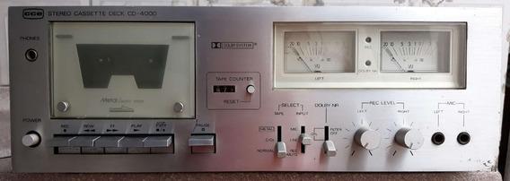 Tape Deck Cce - Cd-4000 - Revisado.