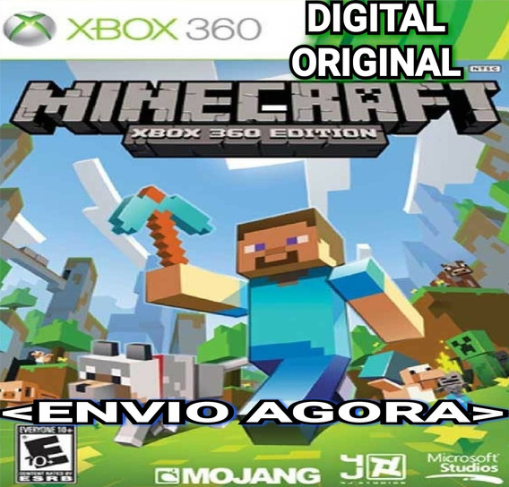 Minecraft Xbox 360 Joga Online Digital Original Imediato