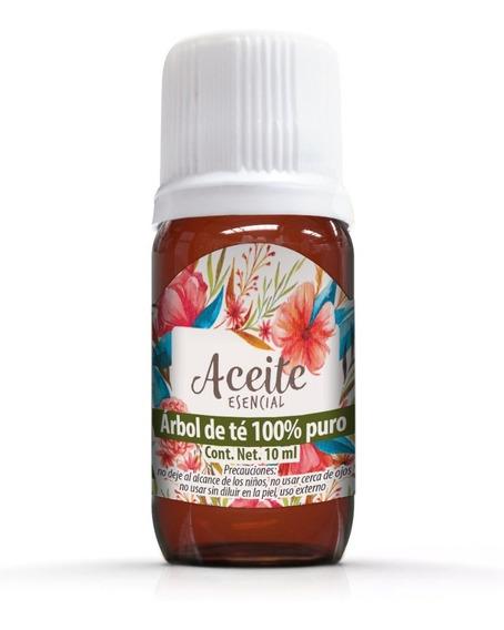 Árbol De Té 10 Ml Aceite Esencial 100% Puro 100% Natural