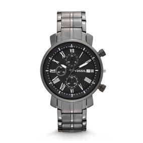 Relógio Cinza Titanium Fossil Bq1004