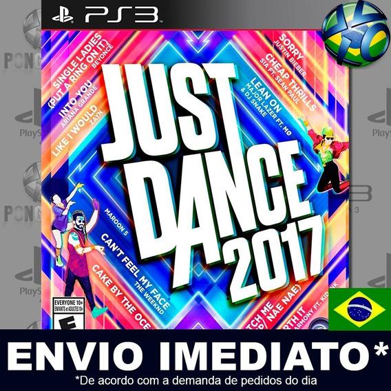 Just Dance 2017 Ps3 Psn Legendas Em Português Pt Br Promoção