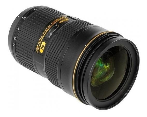Lente Nikon Af-s 24-70mm F/2.8g Ed - Nova + Frete + Bolsa