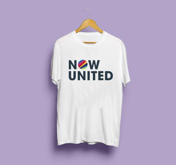 Camisa Now United - Logo (branca)