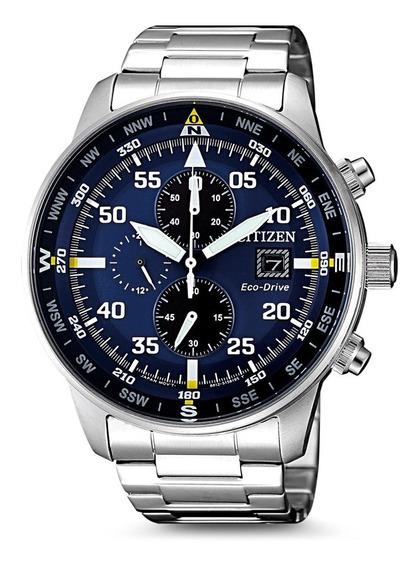 Relógio Citizen Eco Drive Aviator Tz31132f Ca0690-88l + Nfe