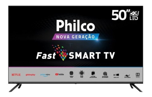 Smart Tv Philco 50  Ptv50g70sblsg Ultra Hd 4k
