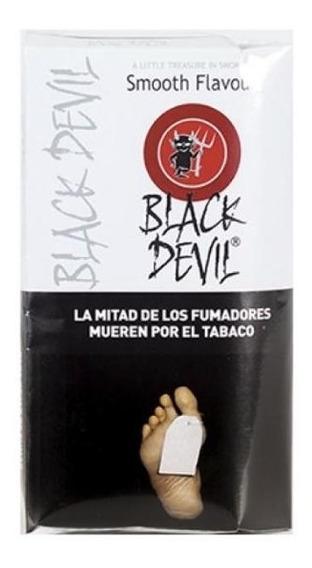 Tabaco Black Devil Blanco Sabor Suave Importado