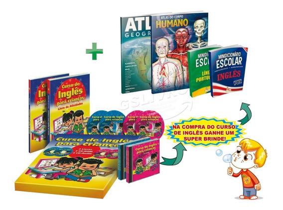 Curso De Inglês Para Crianças 2 Livros + 4 Cd (atualizado)