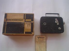 Filmadora Kodak Super 8 Model 25-anos 60-ótima-