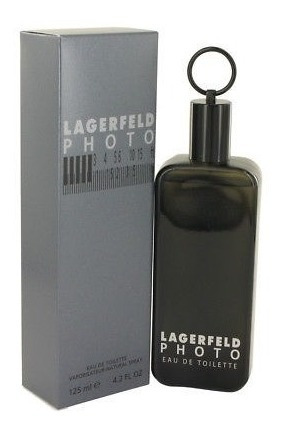 Lagerfeld Photo 125ml - Perfume Raro Caixa Lacrada