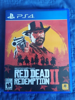 Red Dead Redemption 2 // Ps4 // Formato Físico