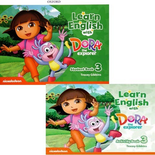 Learn English With Dora The Explorer 3 Student´s + Activity