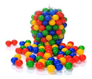 500 Pelotas Plásticas De Colores Vivos