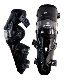 Rodilleras Articuladas Scoyco K12 Protección Motociclismo