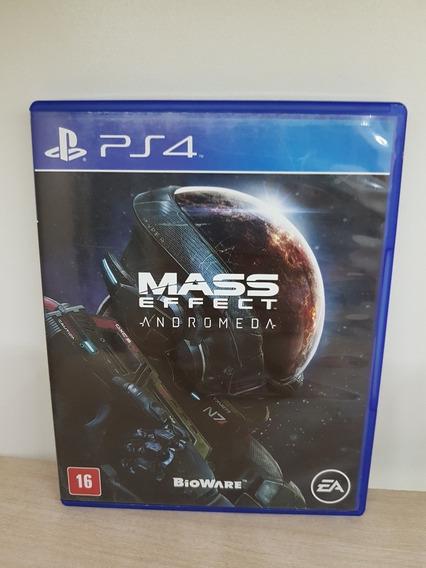Mass Effect Andromeda Ps4 Legendado - Usado Completo