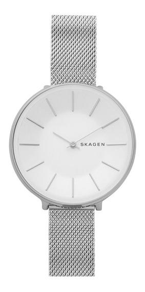 Reloj Dama Skagen Karolina Skw2687 Color Plata De Acero