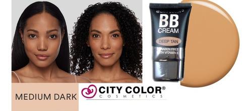 Base Bb Cream City Color Tono Deep Tan