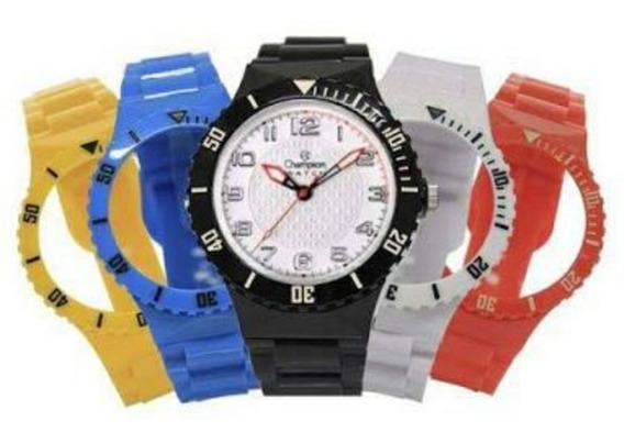Relógio Troca Pulseira (kit Com 05 Pulseiras)